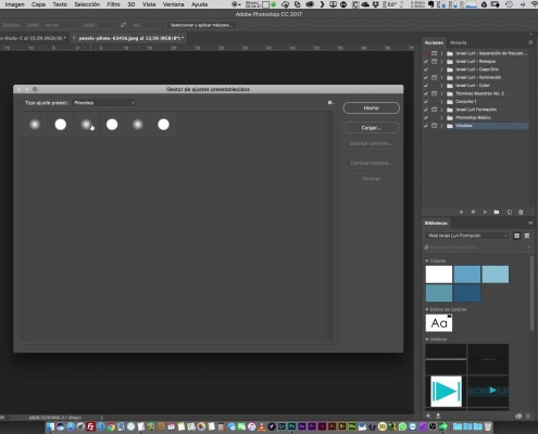 32 Optimización de los recursos de Photoshop