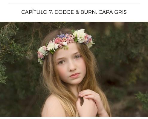 Dodge & Burn Capa Gris