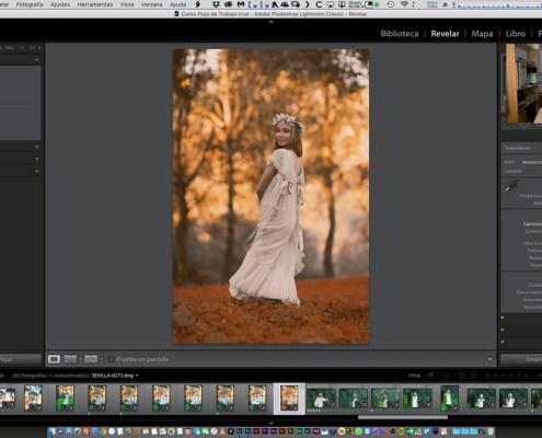 Creación de perfiles de cámara basado en consultas de colores
