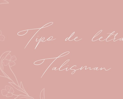 Tipografía Talismán