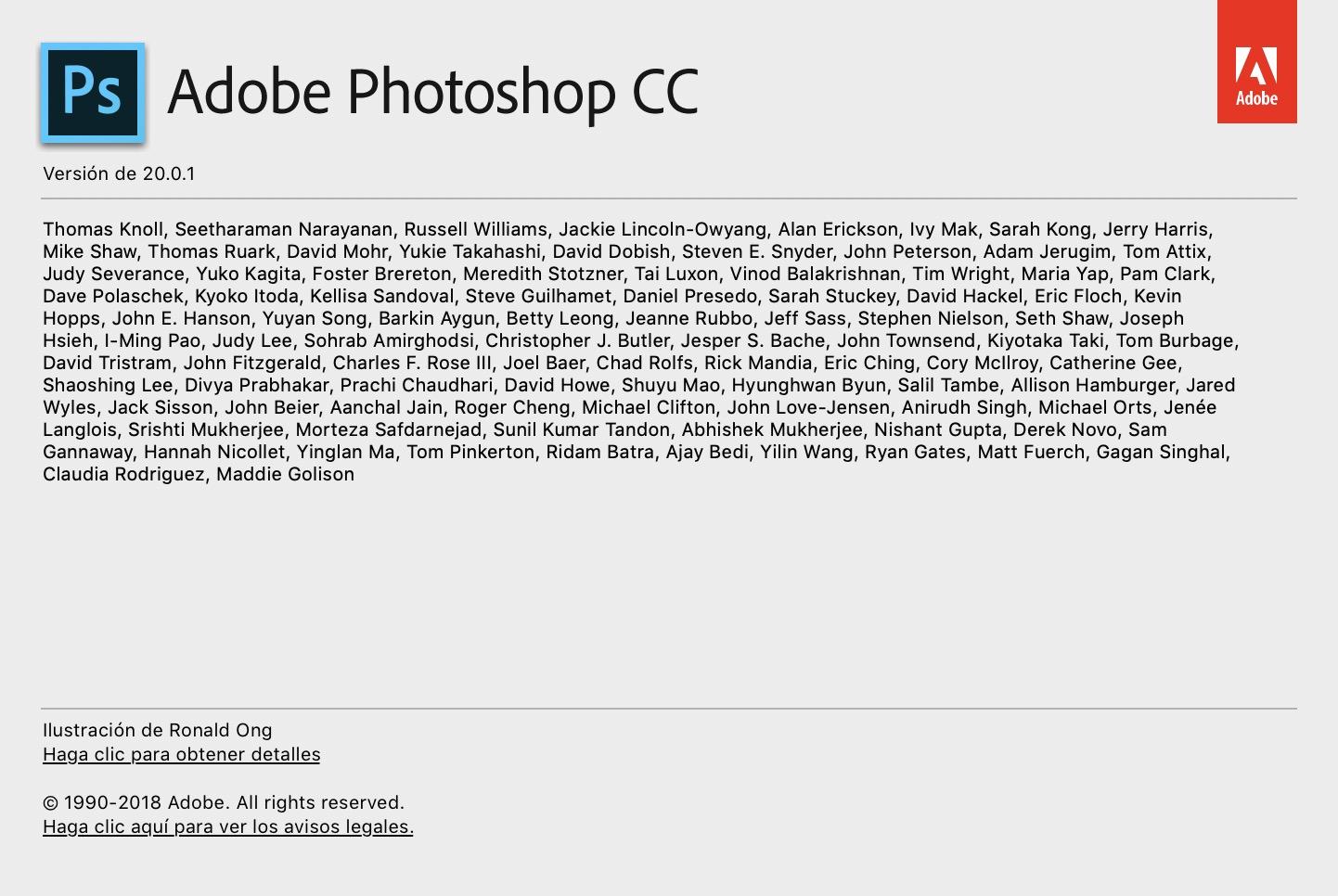 Actualización Adobe Photoshop CC 2019 v20.0.1 y corrección propia a la lentitud del pincel