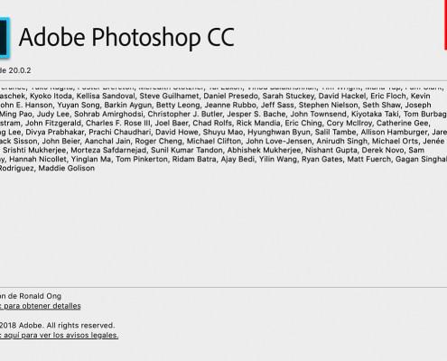 Photoshop CC 2019 20.0.2