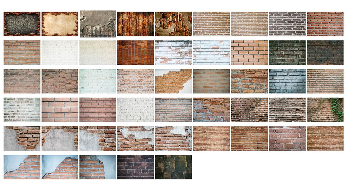 Texturas Pared Ladrillos 1 de 3