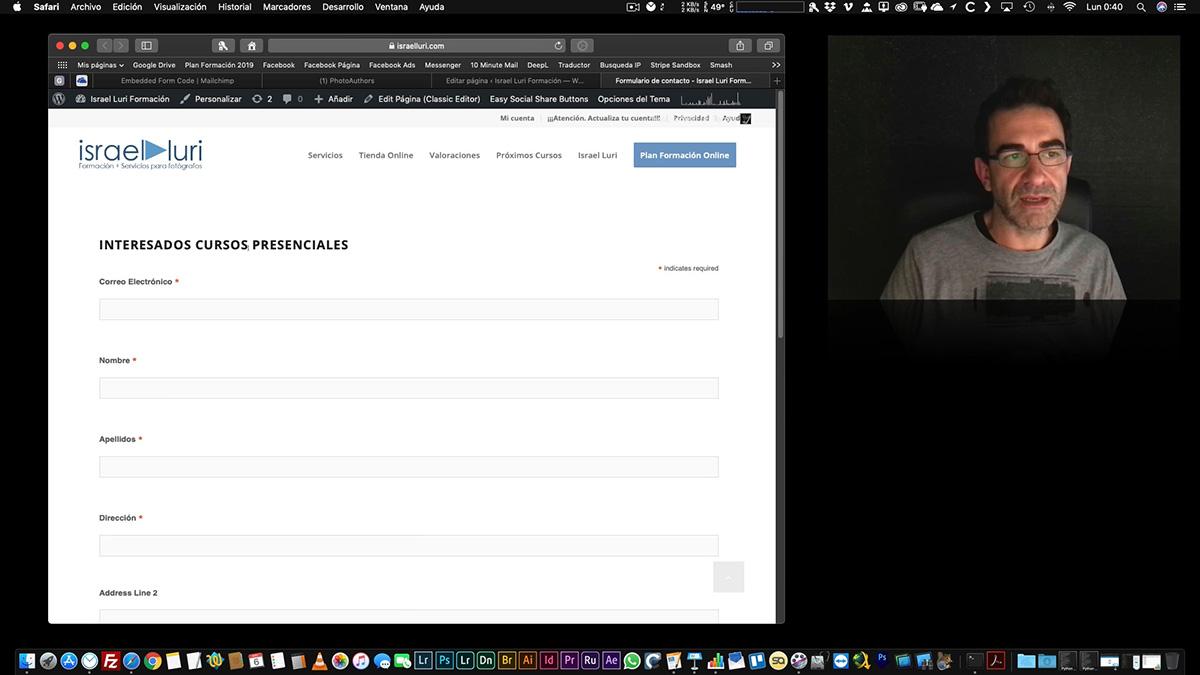 Mailchimp: Segmentación y configuración del formulario