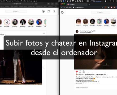 ¿Cómo subir fotos y chatear en Instagram desde Safari o Chrome?