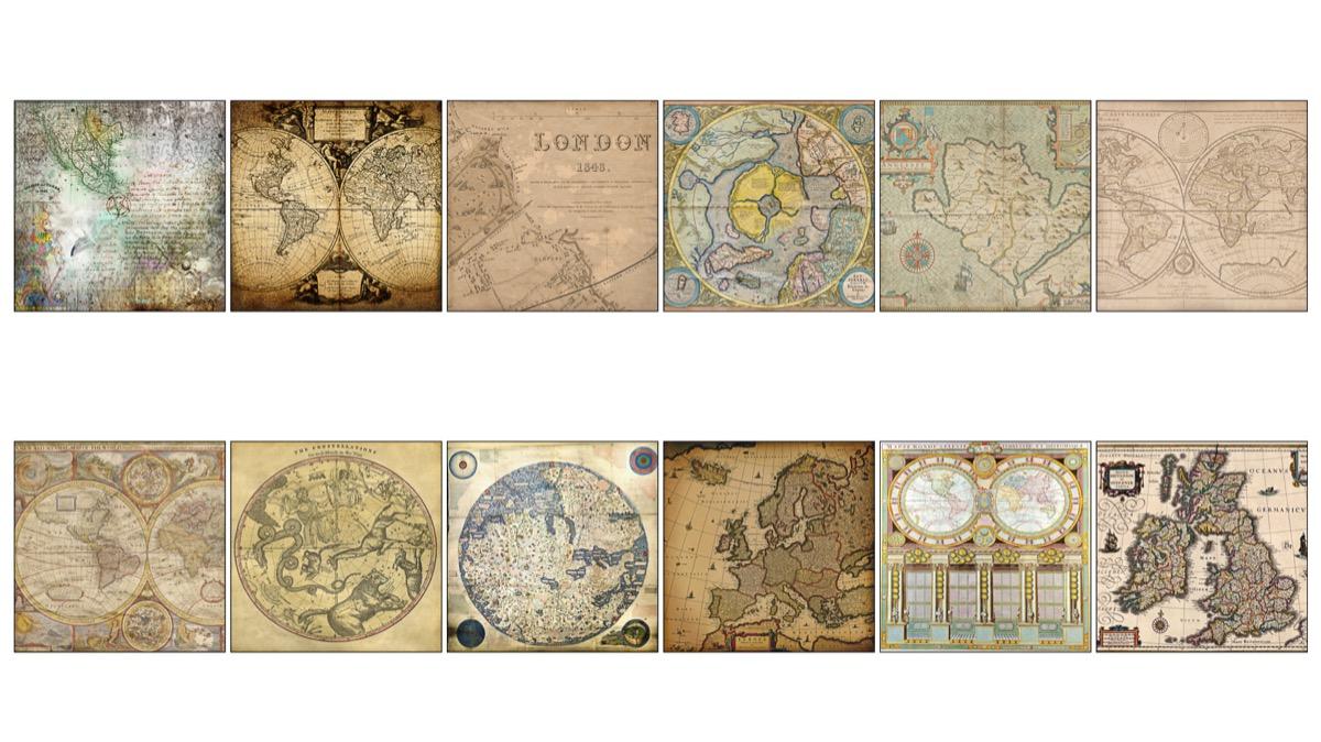 Mapas Vintage
