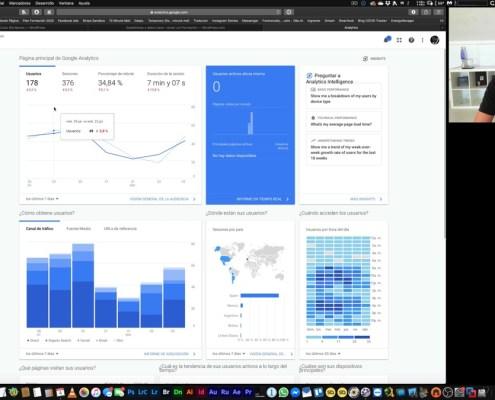 Estadísticas de acceso con Jetpack e Instalación de Google Analytics