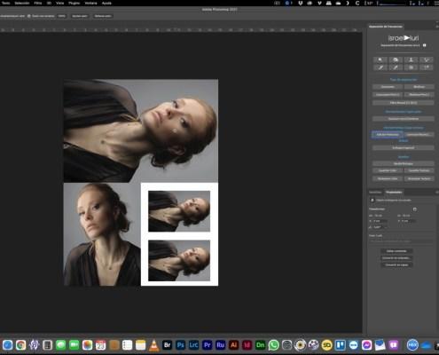 Conjunto de imágenes en Photoshop