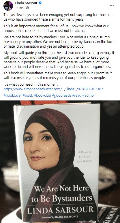 Linda Sarsour book