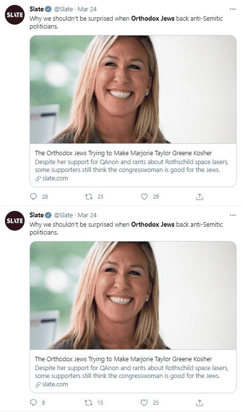Slate tweet