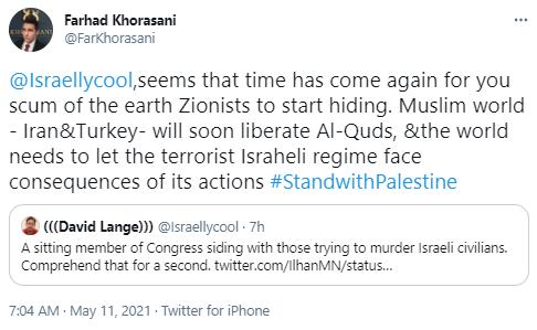 farhad tweet