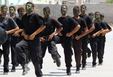 Hamas training