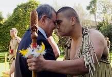 Maori nose press