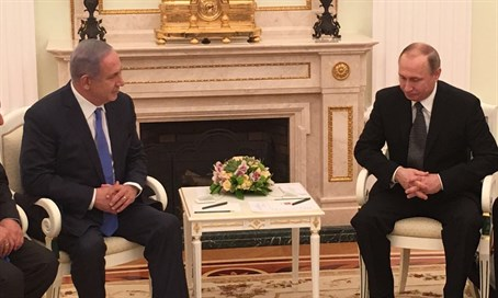 Binyamin Netanyahu's meeting with Vladimir Putin