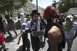 Neturei Karta hombre se une a manifestación violenta árabe