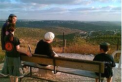 View from Ramat Gilad