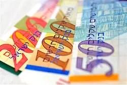 Israeli currency (illustrative)