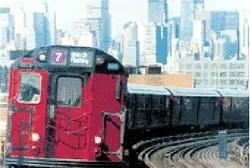 New York subway train