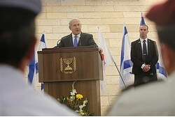 Binyamin Netanyahu, Memorial Day