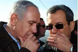Barak and Netanyahu