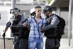 Alborotador árabe arrestado en Jerusalén