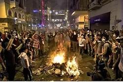 Protestas turcas