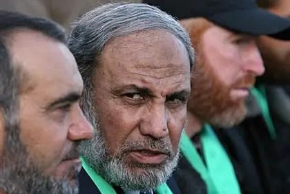 Hamas leader Mahmoud al-Zahar