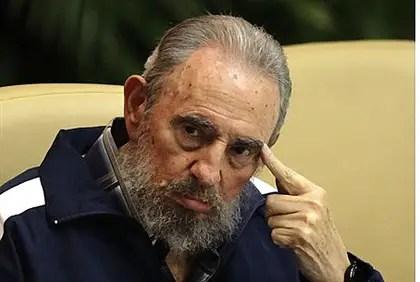 Former Cuban dictator Fidel Castro