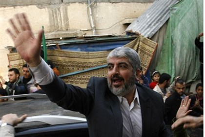 Homeless Hamas leader Khaled Mashaal