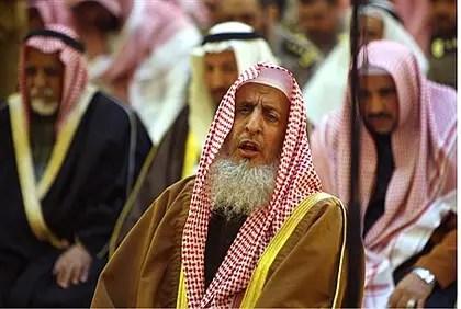 Grand Mufti of Saudi Arabia Abdul Aziz ibn Abdullah Al-Asheikh