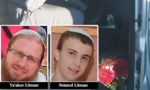 Rabbi Ya'akov and Netanel Litman