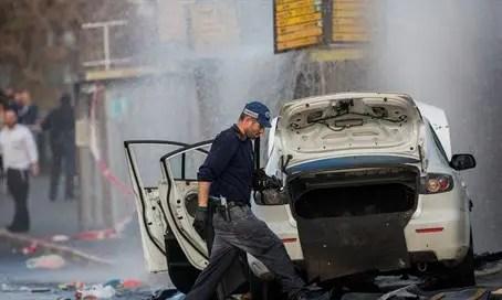 Car attack at Jerusalem's Chords Bridge