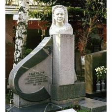Памятник на могиле Н.Н.Надеждиной на Новодевичьем кладбище. Фото: Wikipedia