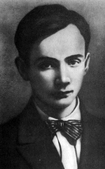 Микола Бажан в юности
