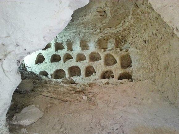 Колумбарий (фото: Саара Ганора, Управление древностей)