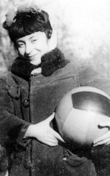 1950 год. Сестра мамы Клара (Кларуся)