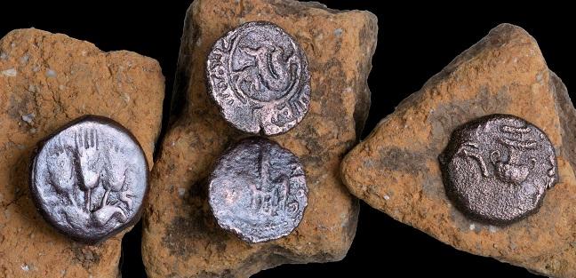 Монеты римского периода. Фото Клары Амит | Предоставлено управлением древностей