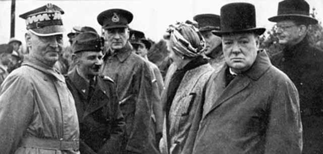 С Уинстоном Черчиллем