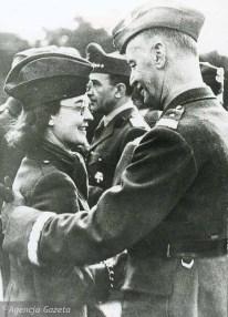 Владислав Сикорский и его дочь Зофия