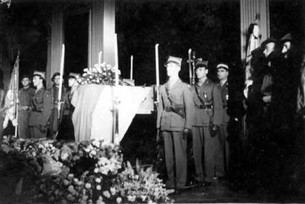 Похороны Владислава Сикорского в Лондоне
