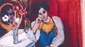 Отто Дикс, «Женщина в театральной ложе»