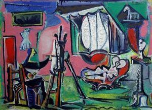 Картина из собрания Гурлитта, предположительно работы Анри Матисса