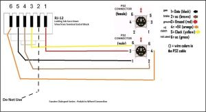 Male RJ11 pedal wiring diagram  Fanatec  InsideSimRacing