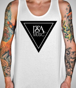 White ISSA Music Tank