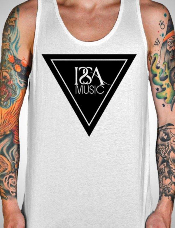 White ISSA Music Tank