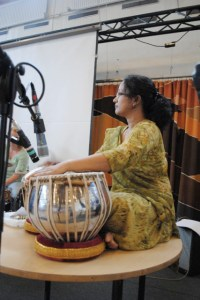 Suranjana Ghosh - in rehearsal for Copenhagen gig 2010