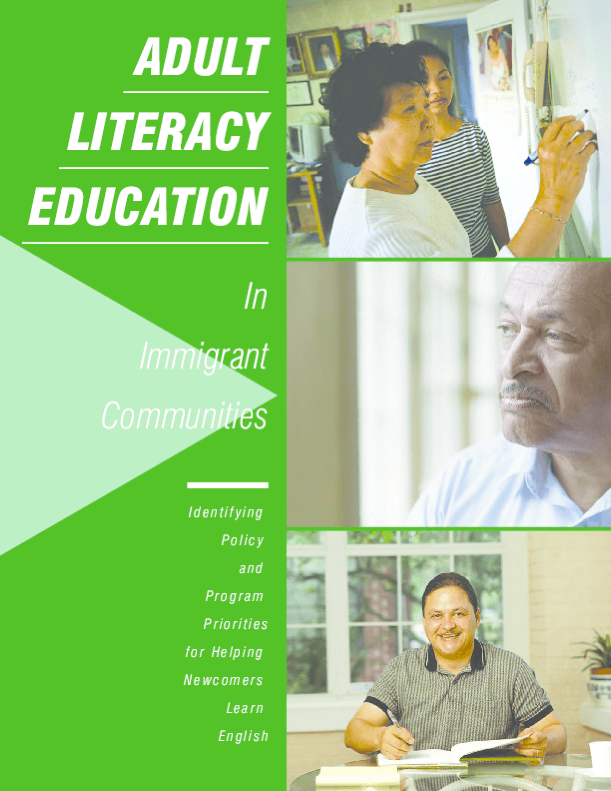 Adult Literacy Education In Immigrant Communities