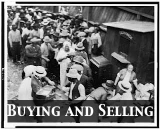 Black Wall Street Buying And Selling