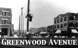 Black Wall Street Greenwood Avenue