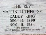 A.D. King, Daddy King Grave Marker
